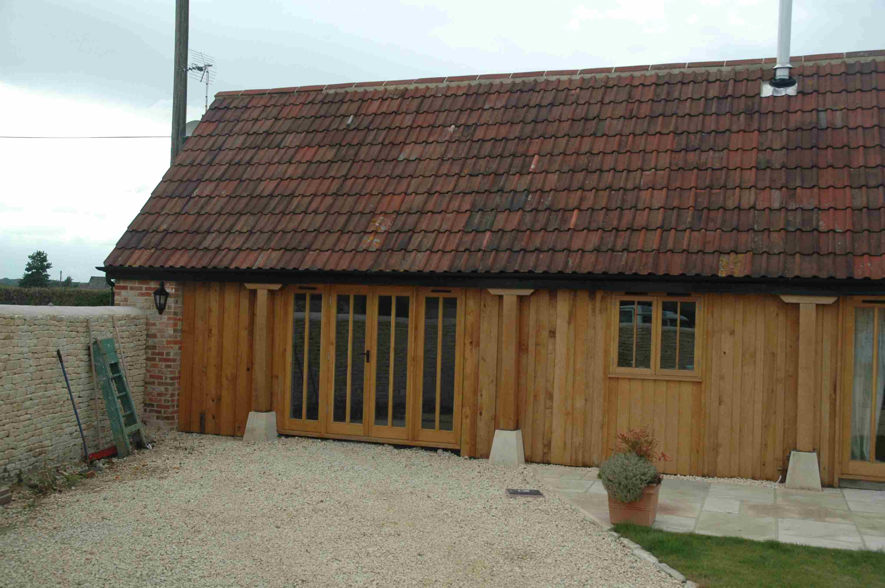 Curtilage Listed Barn conversion near Tytherton