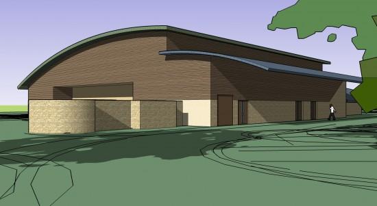 Gospel Hall Kington Langley near Chippenham Concept