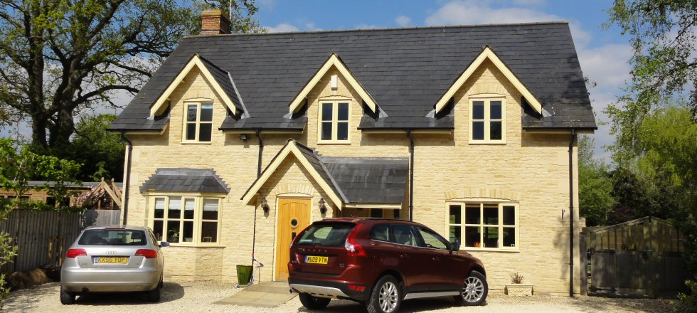 Charles Manning New Build Silver St Minety near Swindon