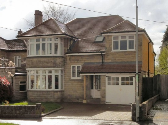 Modern Extension on 1930's Chippenham property